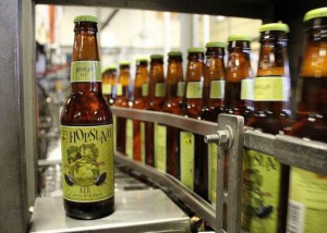 Hopslam on the bottling line at Bell's Brewery